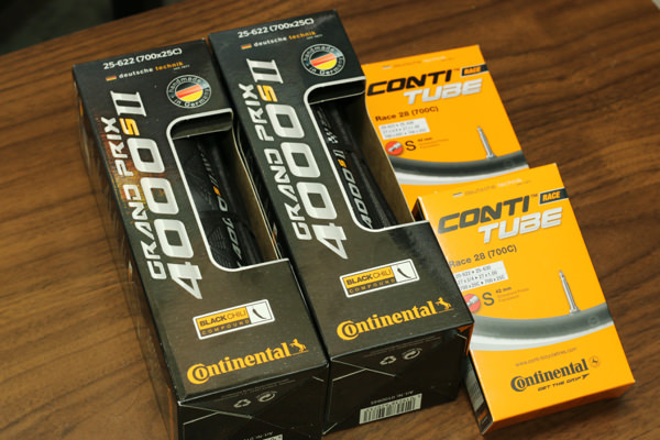 コンチネンタルGP4000SⅡ購入