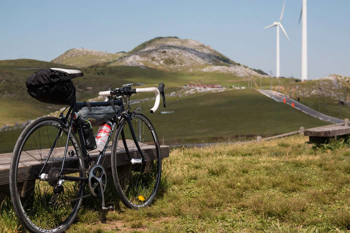 自転車と四国カルスト