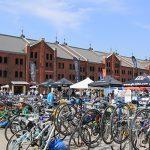 オシャレ×電動自転車×ミニベロの祭典!「横浜サイクルスタイル2016」会場である赤レンガ倉庫の様子をお届け