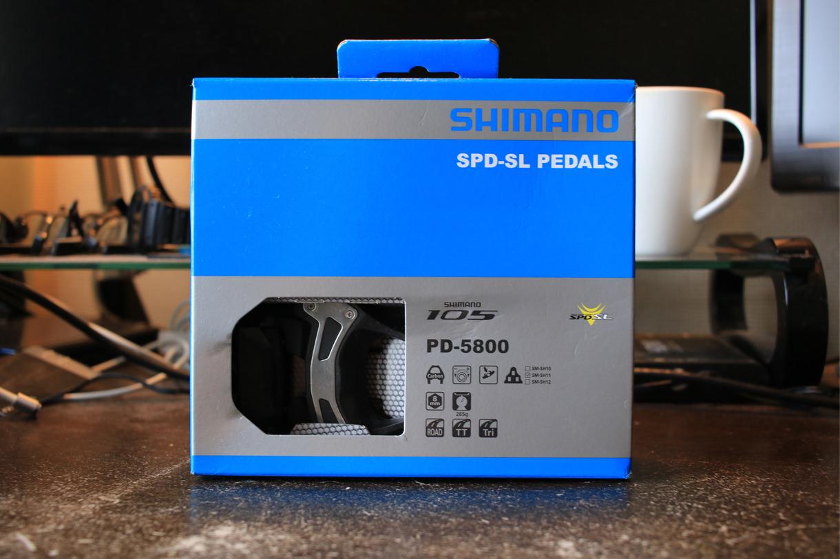 シマノ105ビンディングペダルPD-5800