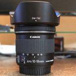 キヤノン広角レンズ「EF-S10-18mm F4.5-5.6 IS STM」レビュー! 全然違う世界が見えるめっちゃ広いレンズだ〜おすすめ!