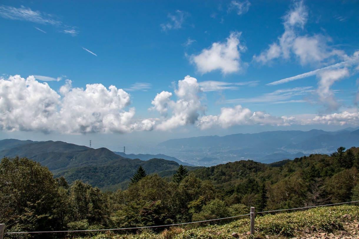 大菩薩峠からの眺望
