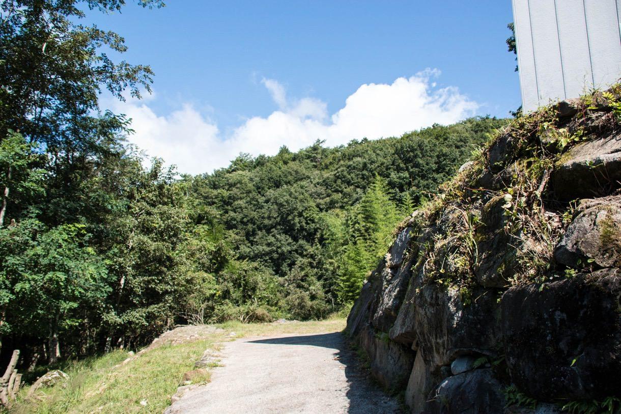 大菩薩峠登山口からの景色
