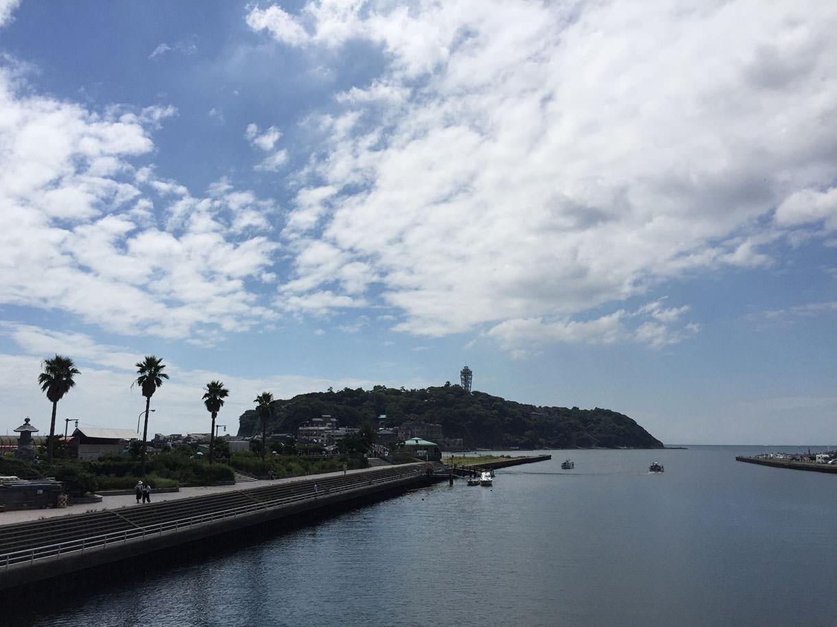 江ノ島まで気軽に来れる道