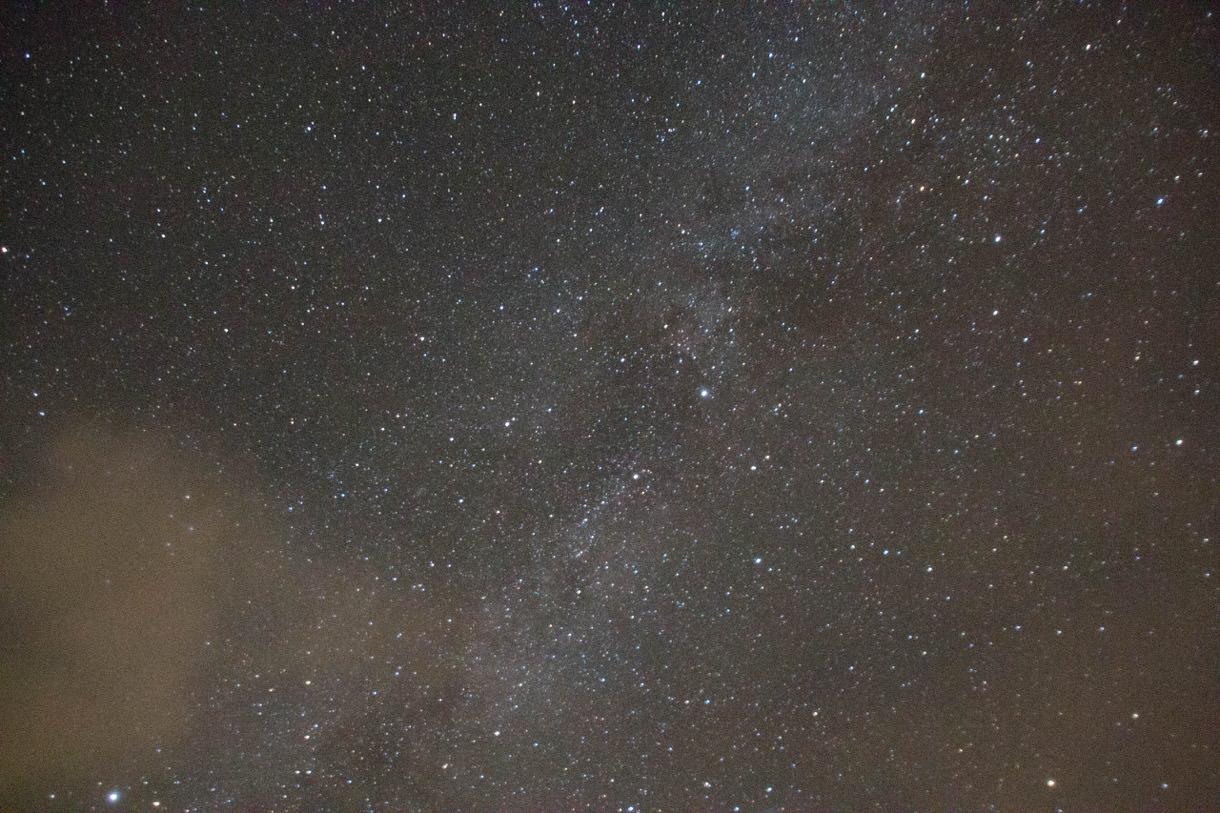 乗鞍畳平から見る星空その1