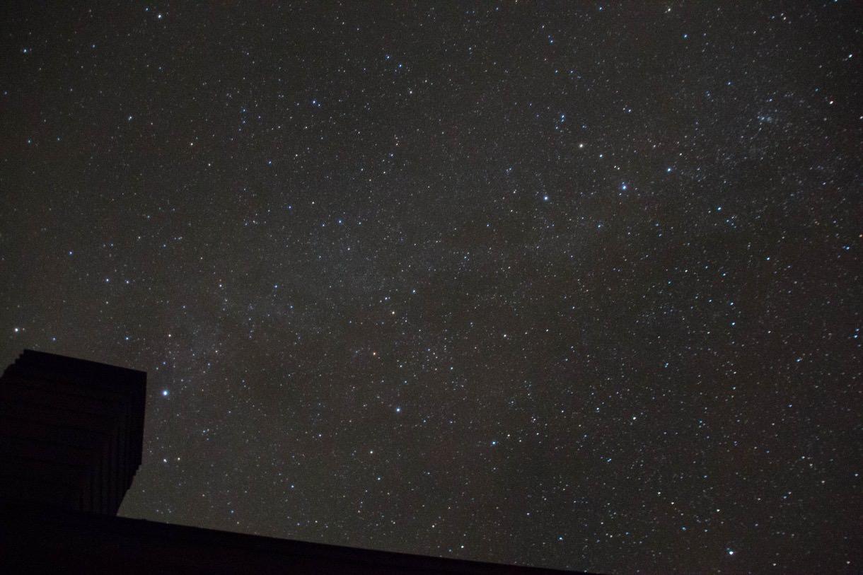 乗鞍畳平から見る星空その3