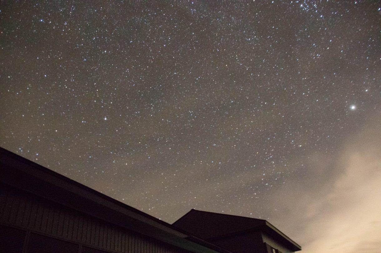 乗鞍畳平から見る星空その2