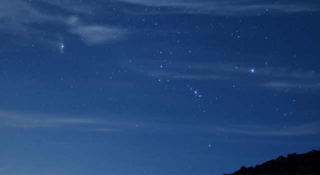 オリオン座流星群ピーク記事アイキャッチ
