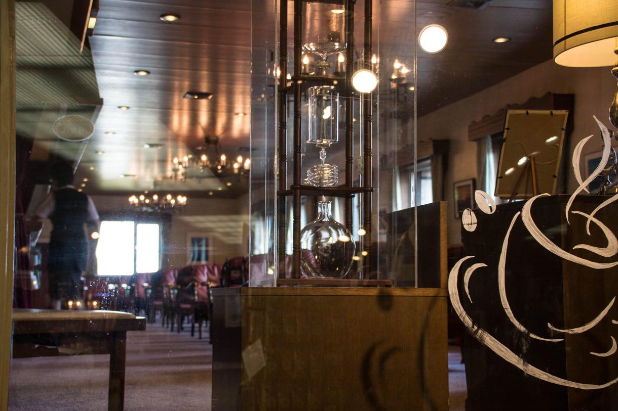 室堂ターミナル内の喫茶店