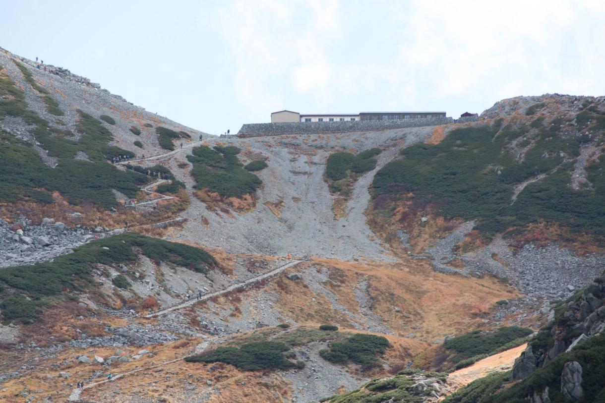 雄山への道