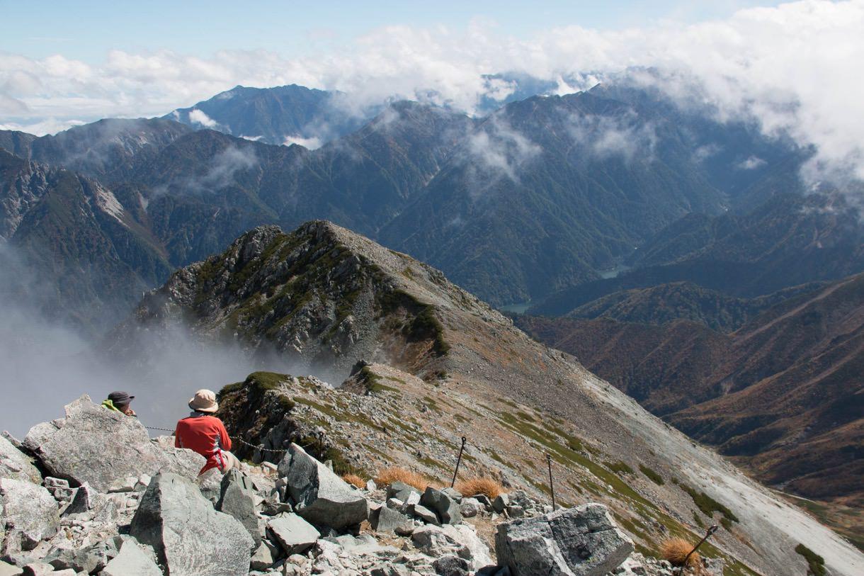 雄山山頂からの風景その1