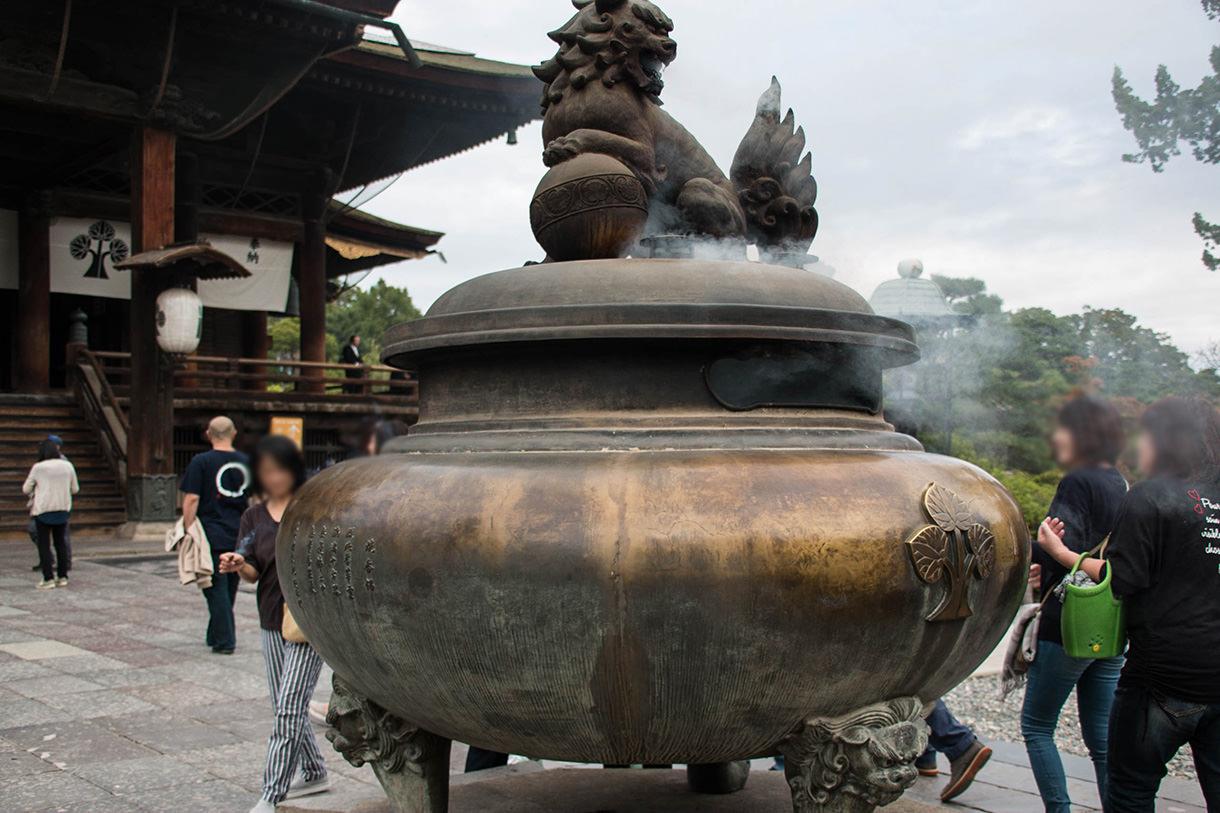 善光寺の常香炉