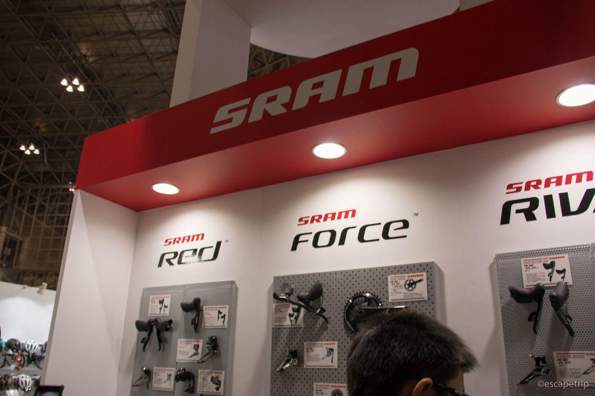 サイクルモード内のSRAMのコンボ展示