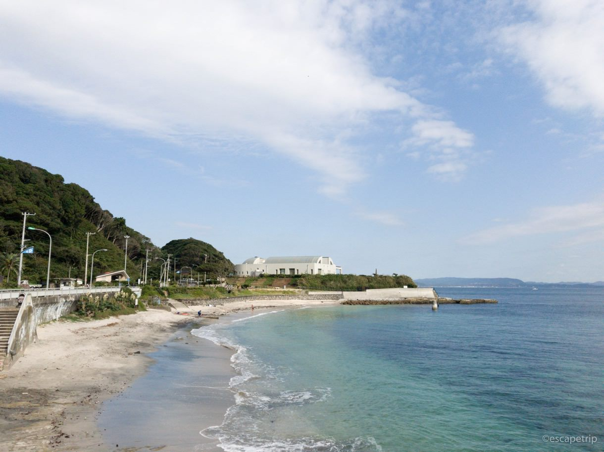 三浦半島の海辺