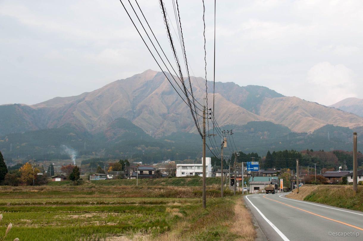 阿蘇山が目の前