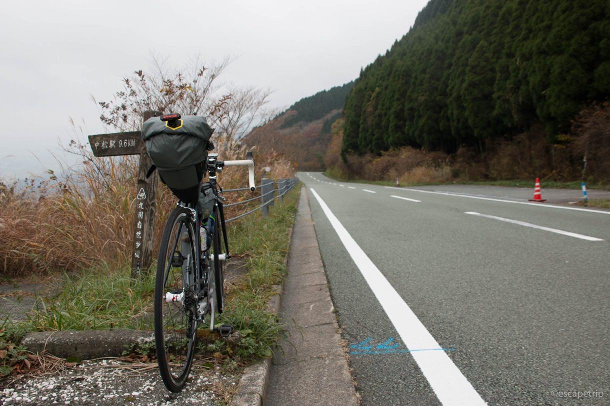 熊本のグリーンロードをロードバイクで登る
