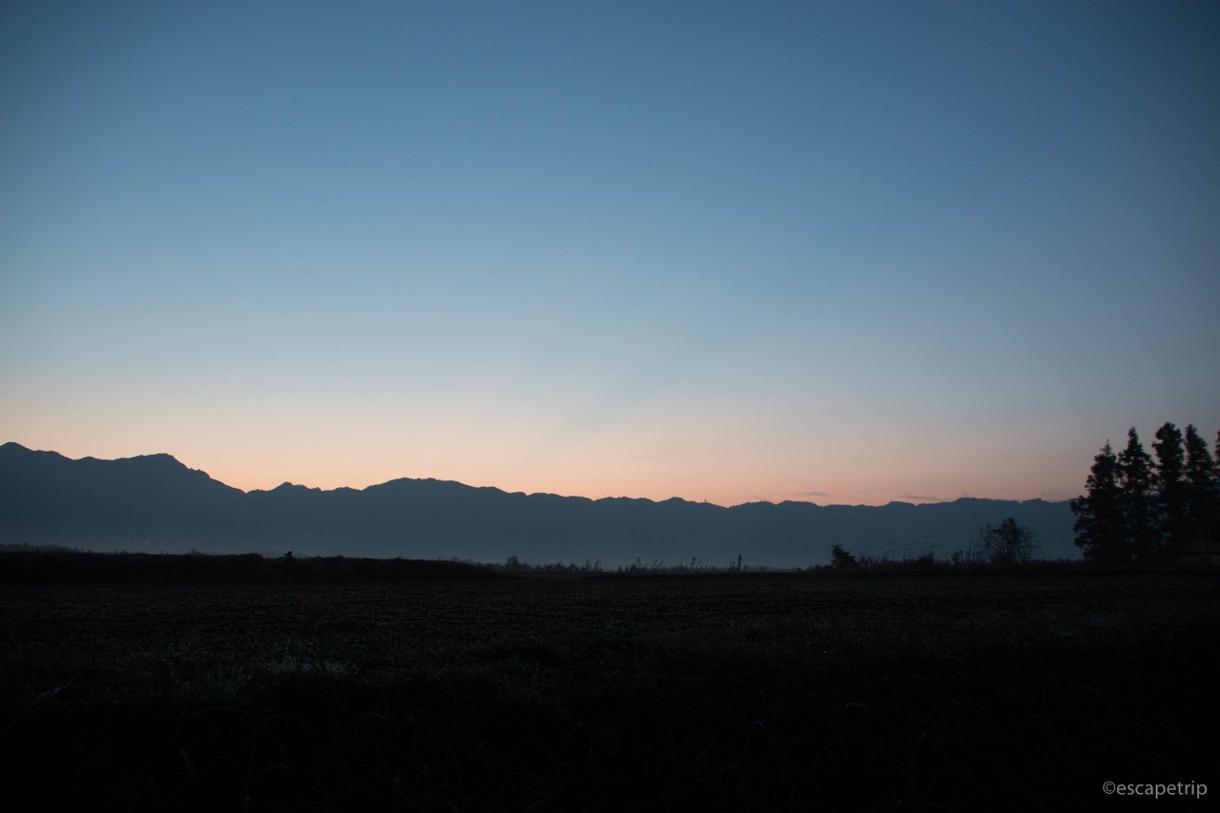 南阿蘇の夜明け
