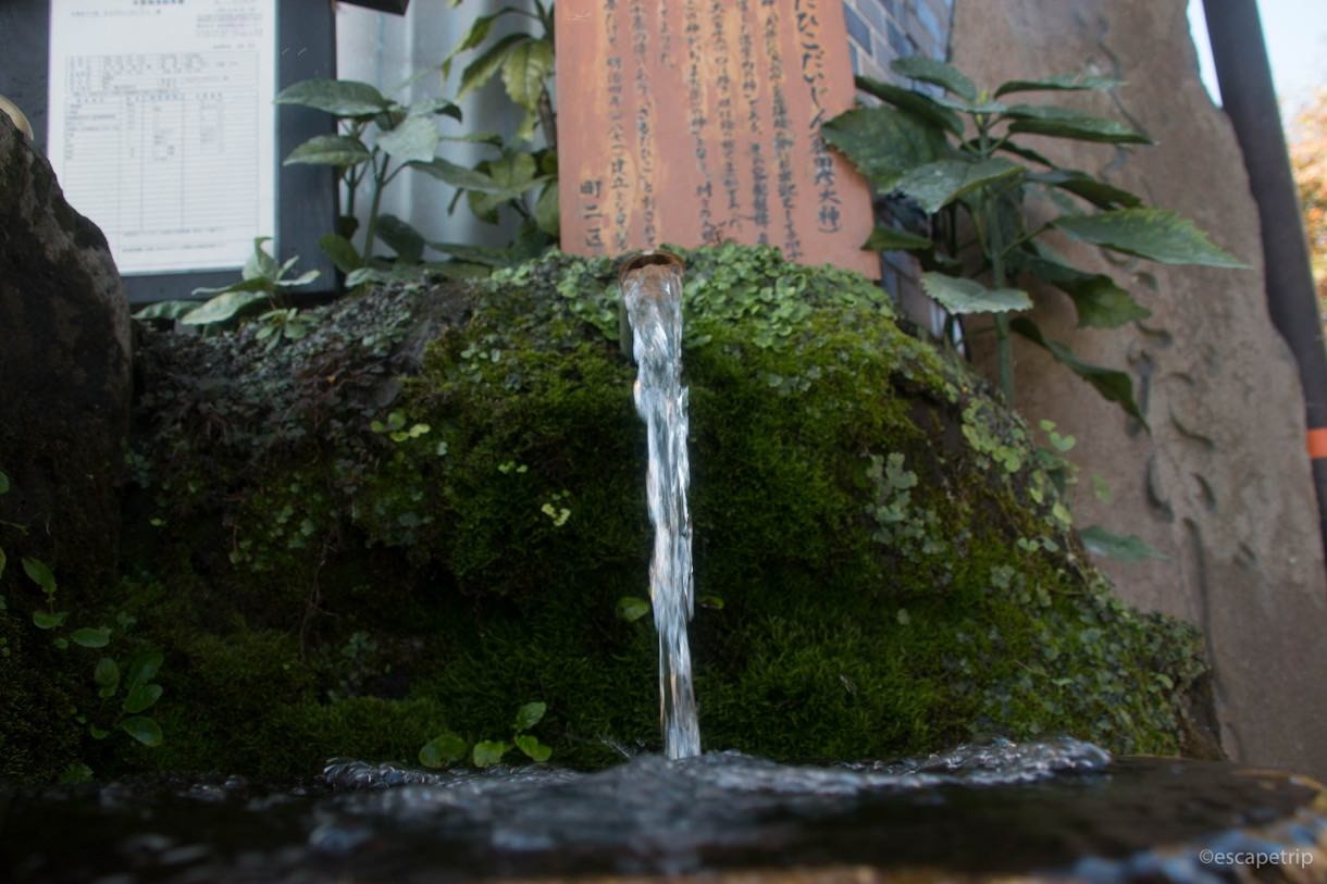 阿蘇神社の水基めぐり