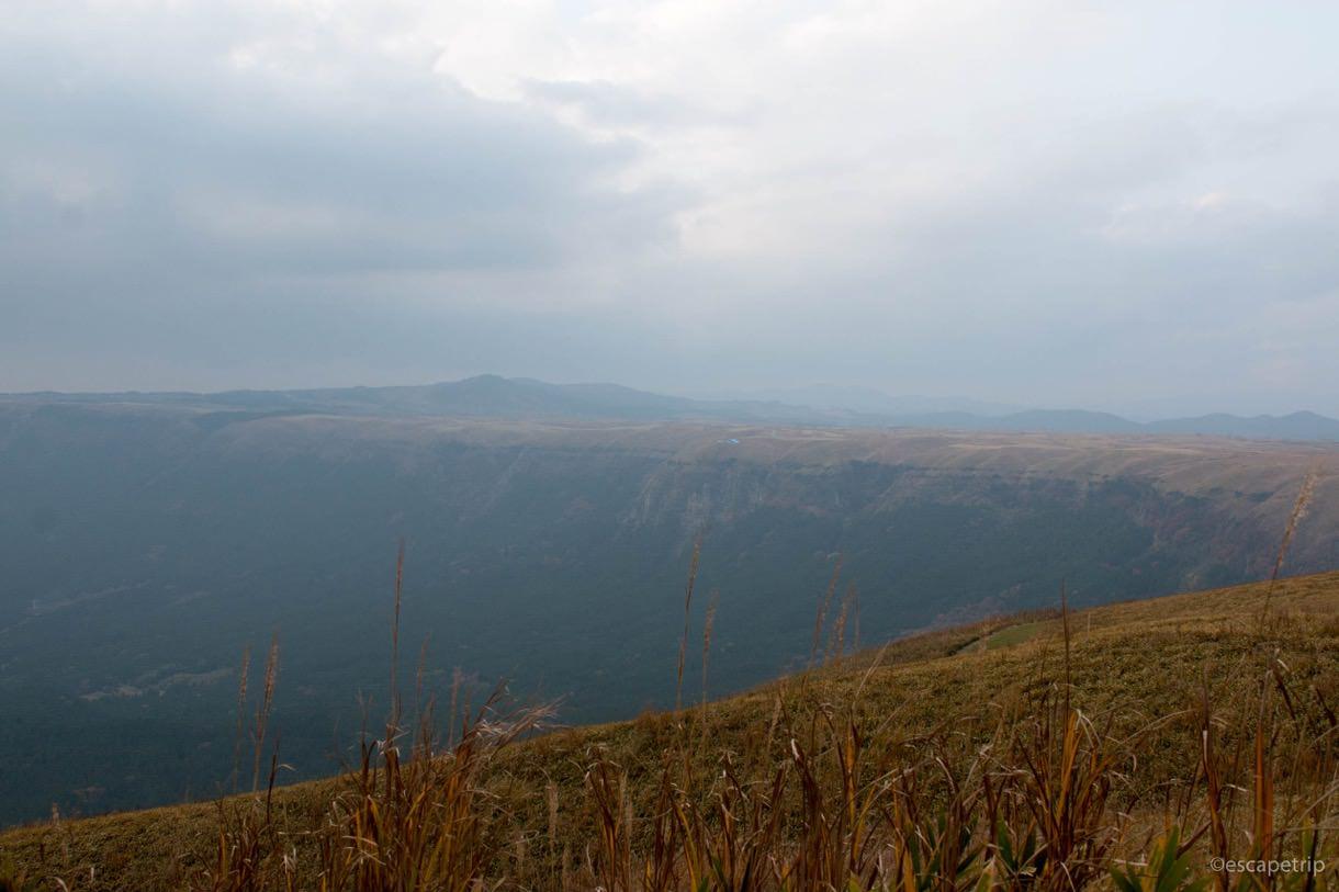大観峰の定番アングル