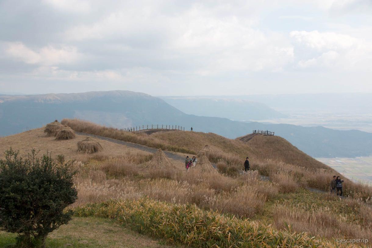 西湯浦園地展望所の展望台