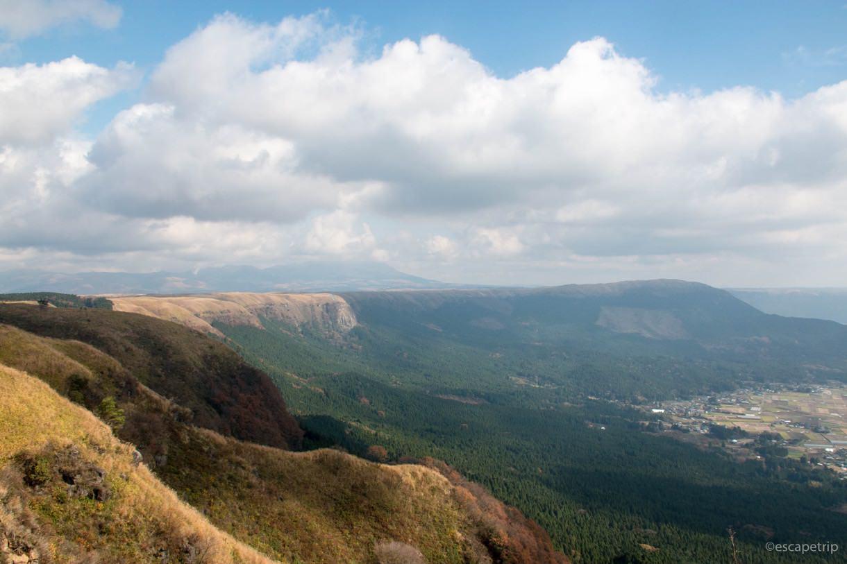 西湯浦園地展望所からの景色その2