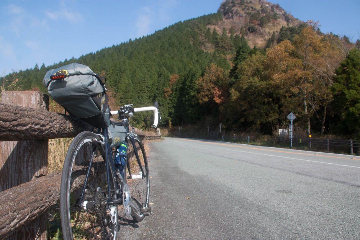 ロードバイクで大観峰にのぼる
