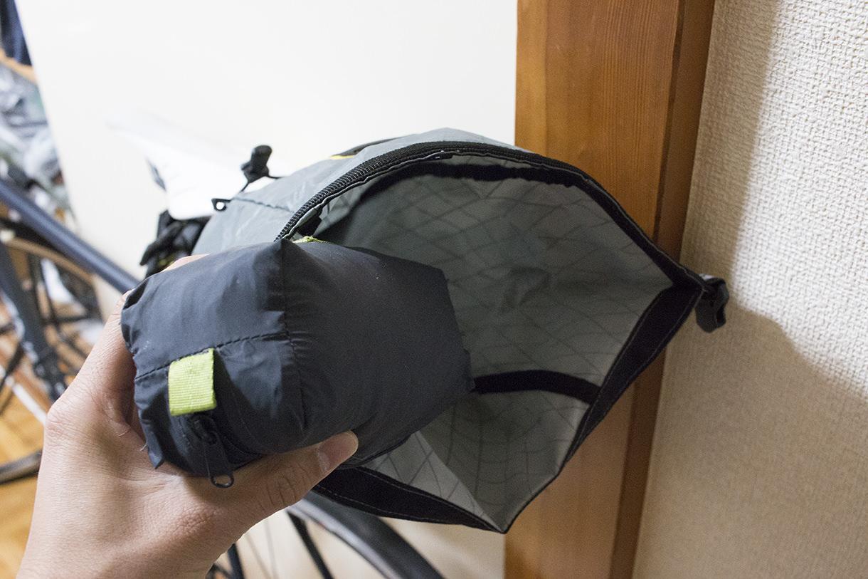 アピデュラのサドルバッグの構造