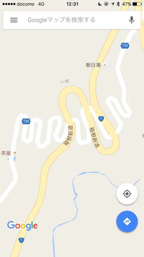旧東海道の七曲り