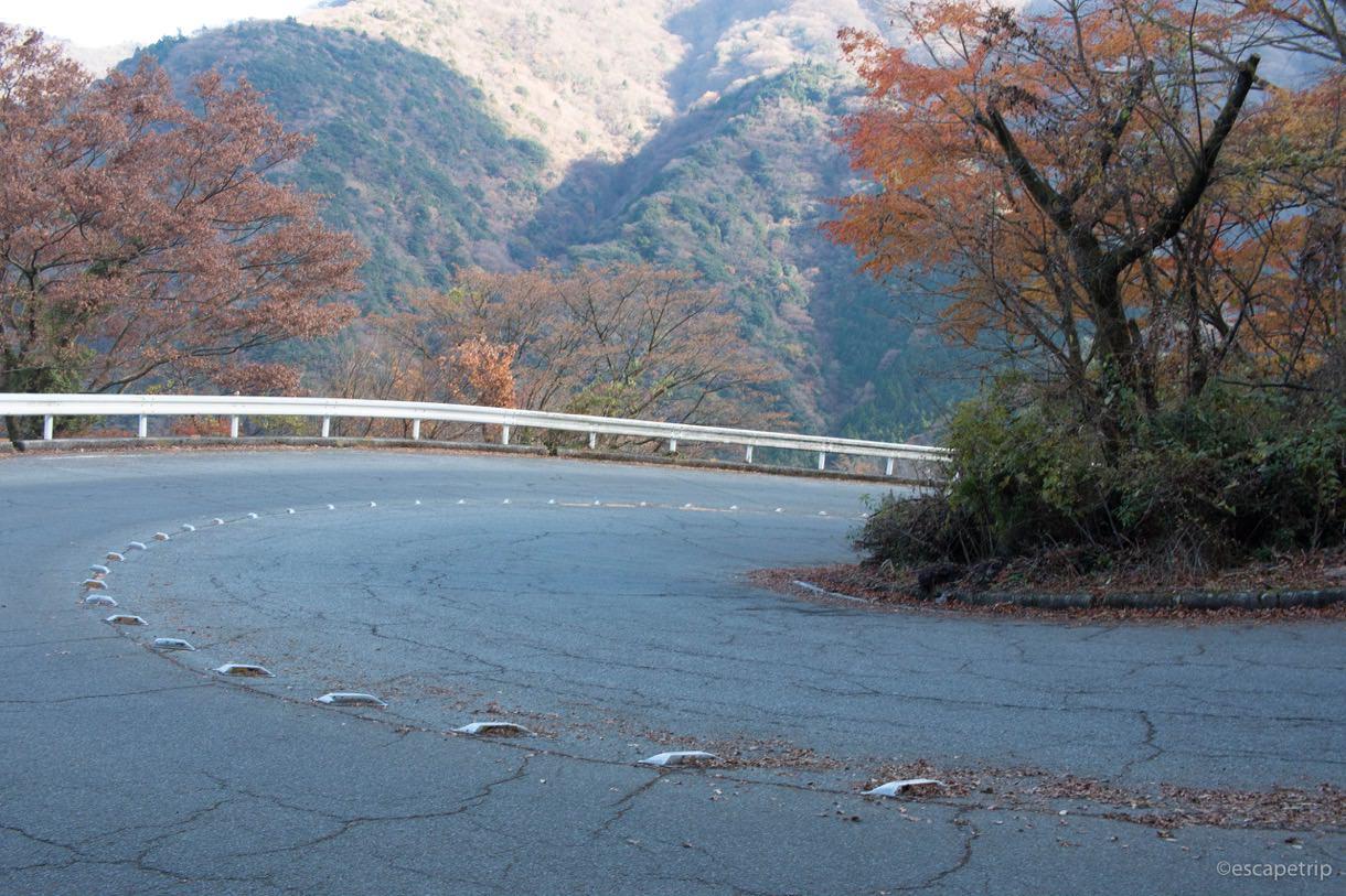 旧東海道の七曲りの写真