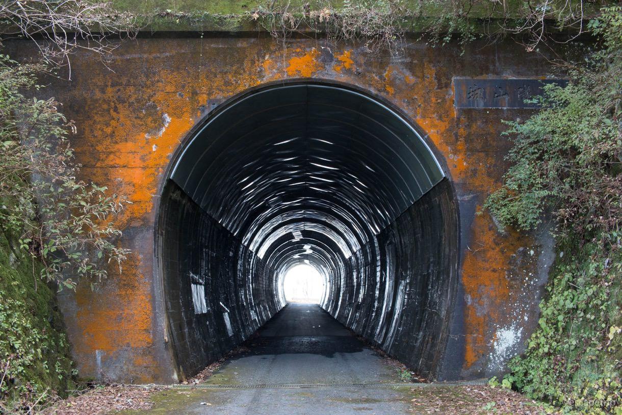 しとどの窟のトンネル