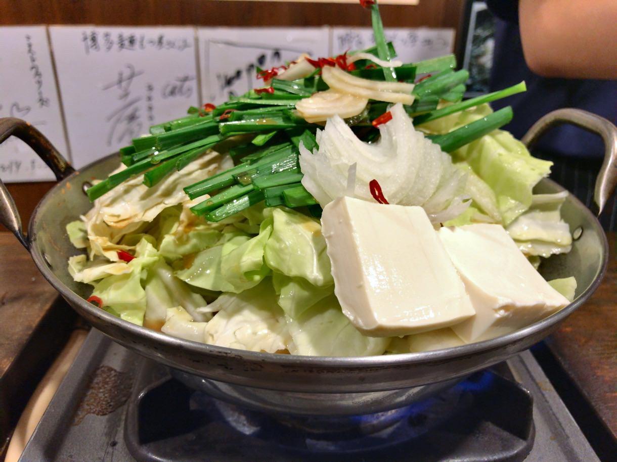 元祖博多麺もつ屋のもつ鍋