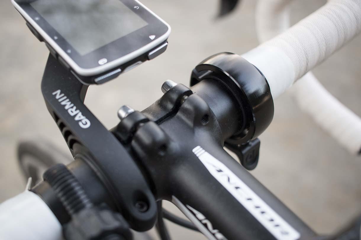 自転車用ベルOiの装着イメージ
