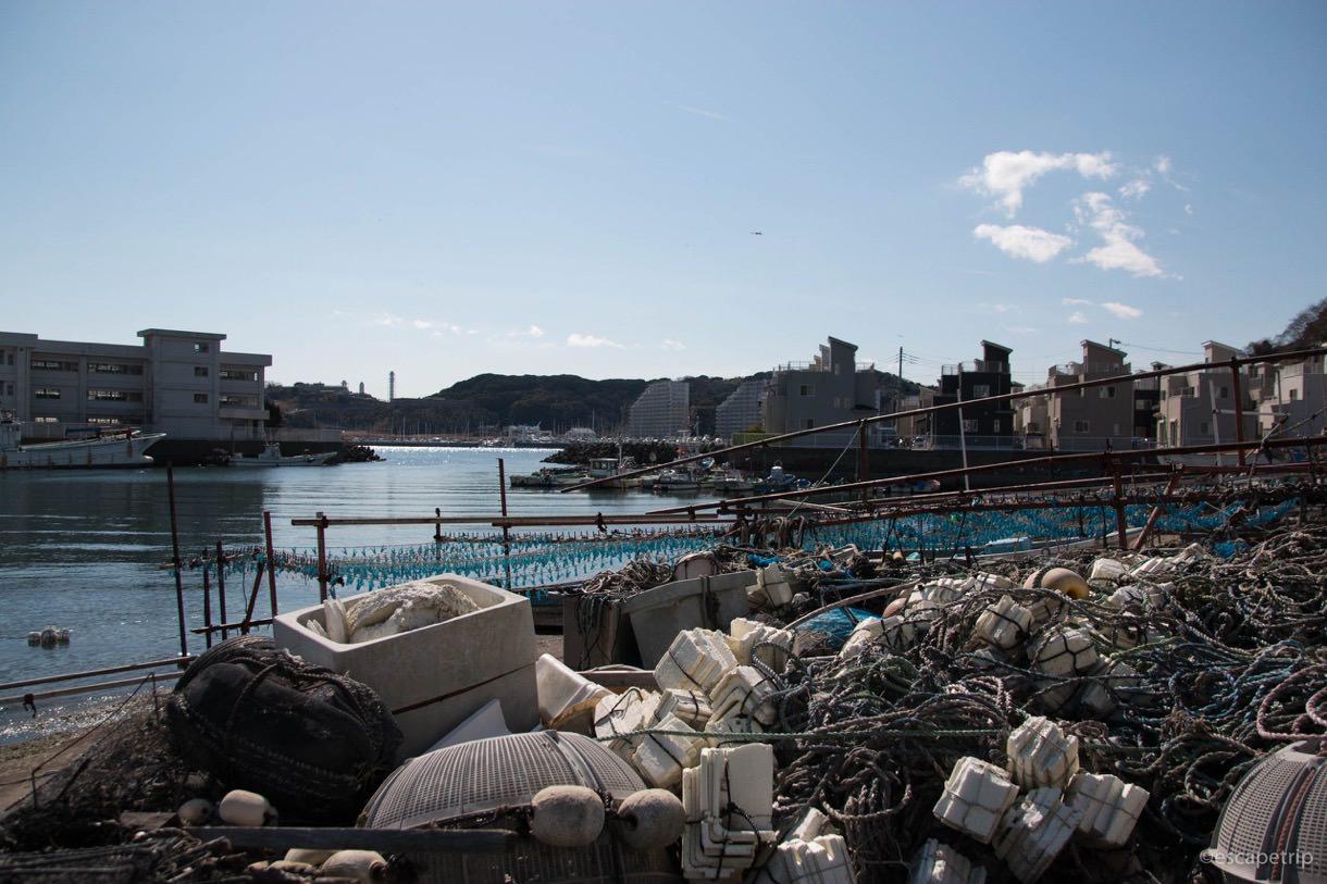 三浦半島の港町