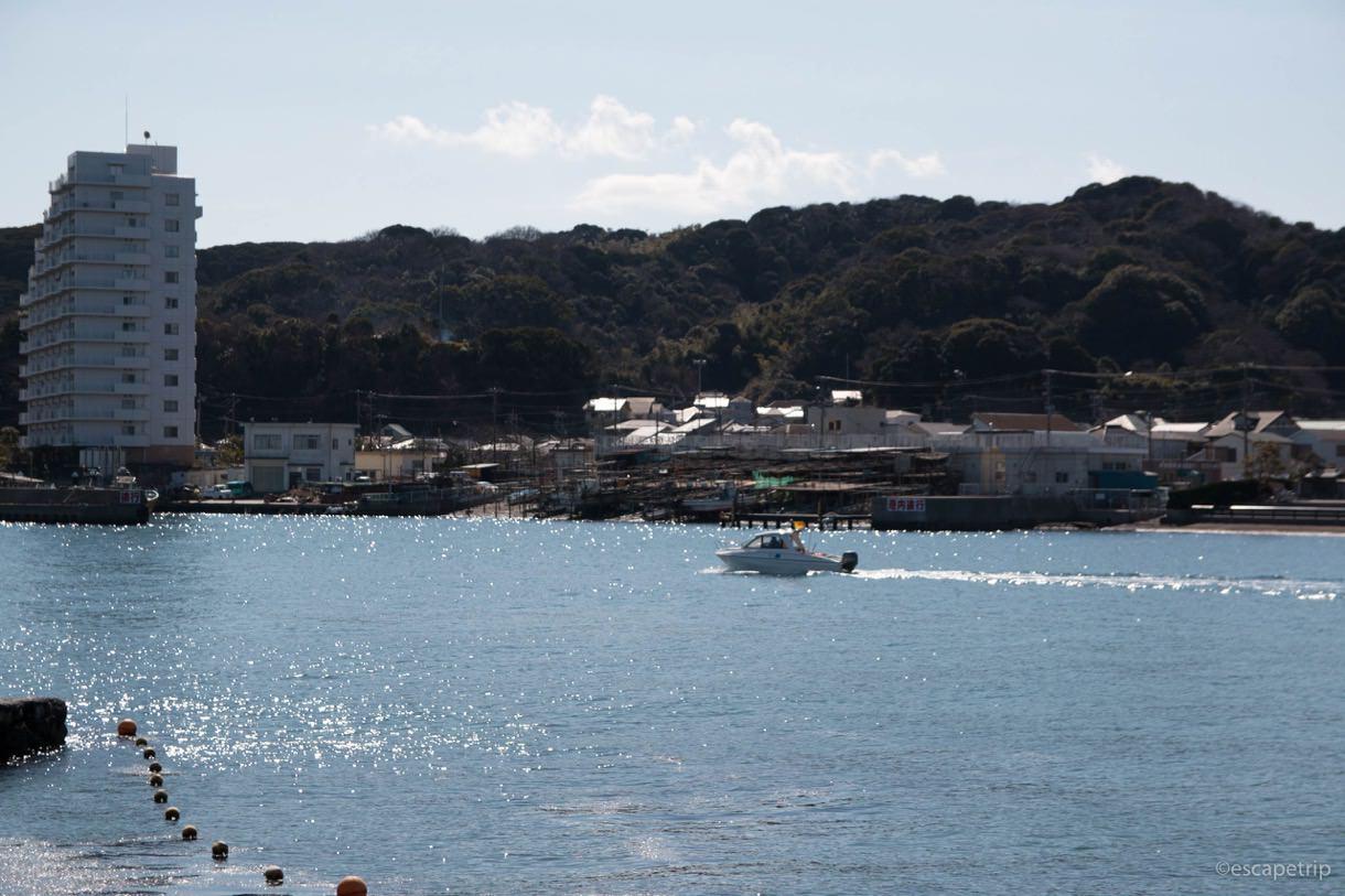 三浦半島の海の写真