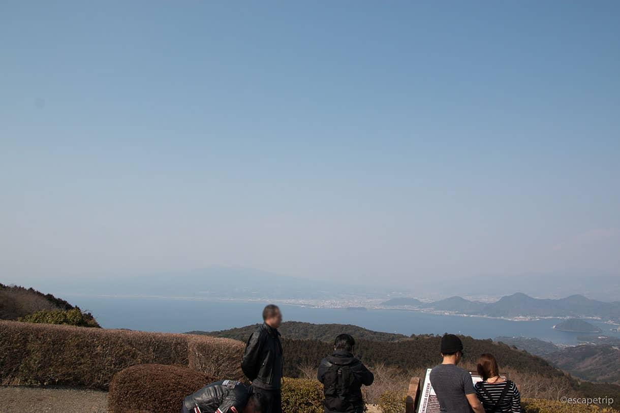 だるま山高原レストハウスからの景色