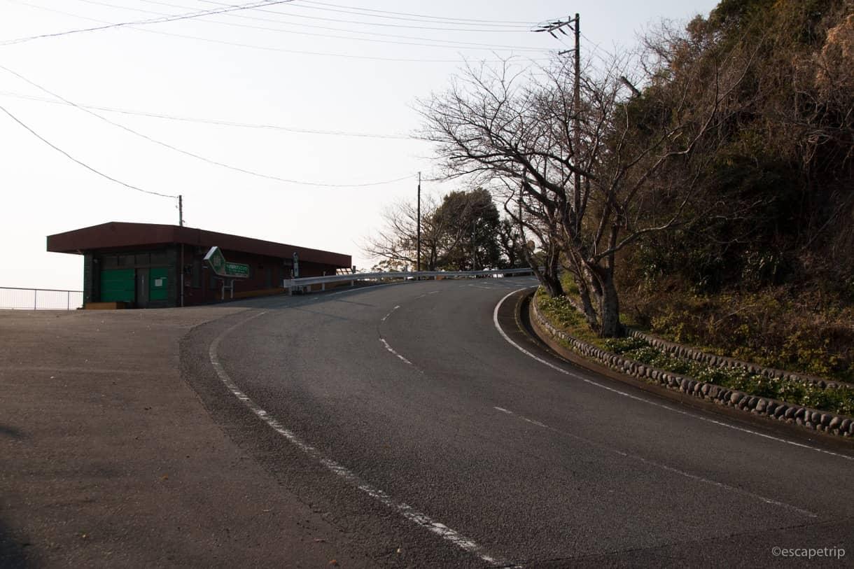 静岡県道17号線のアップダウン写真