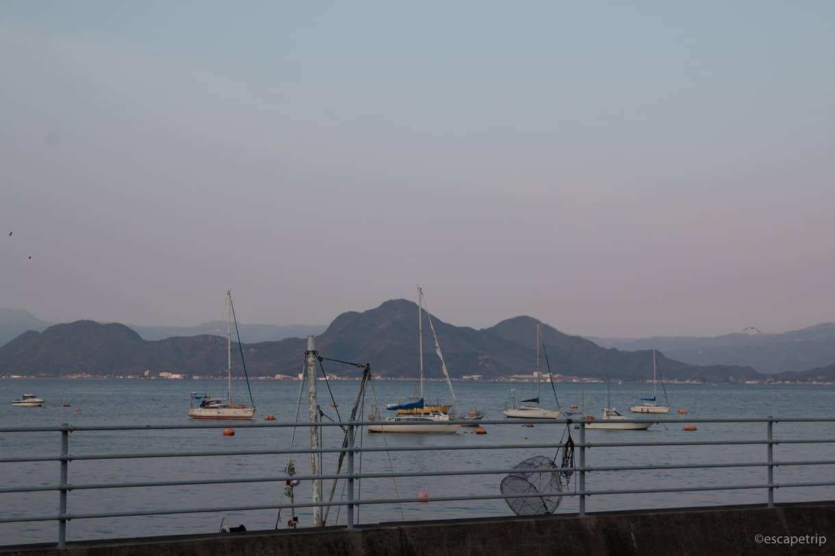 沼津の港町