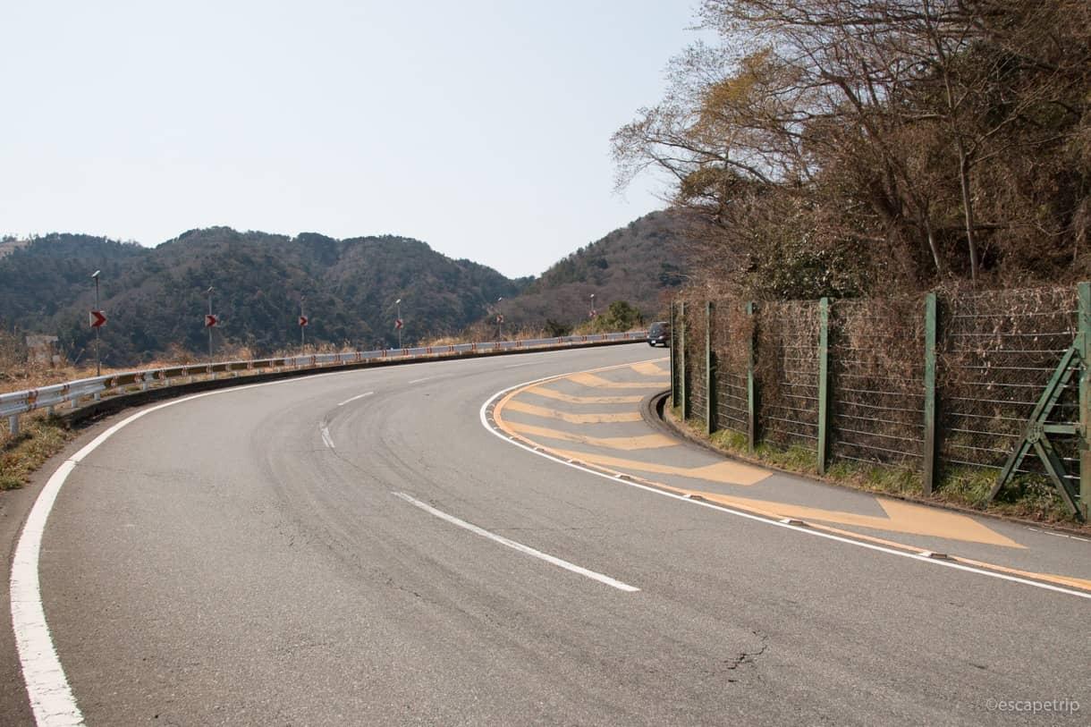 伊豆半島の亀石峠へヒルクライム