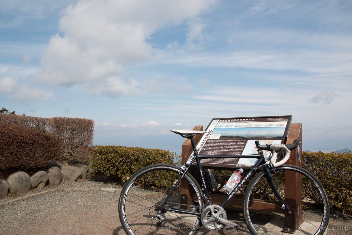 だるま山高原レストハウスから見える富士山