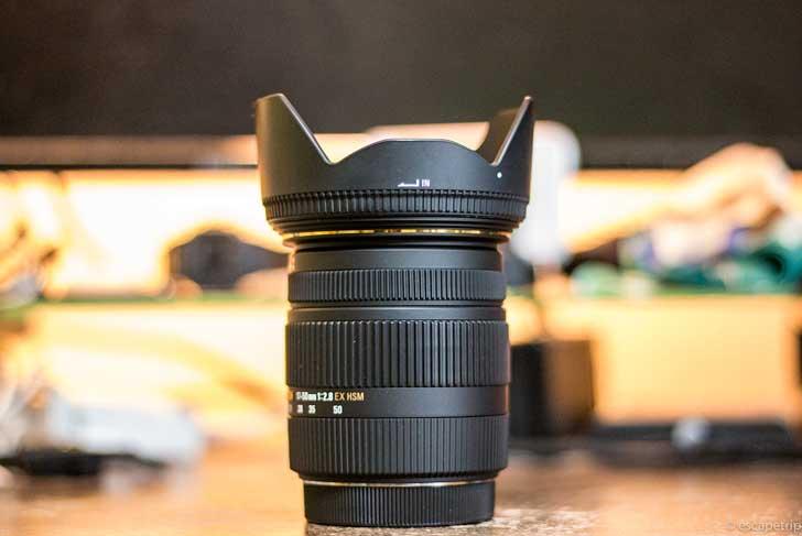 シグマ17-50mmレンズレビュー記事のアイキャッチ