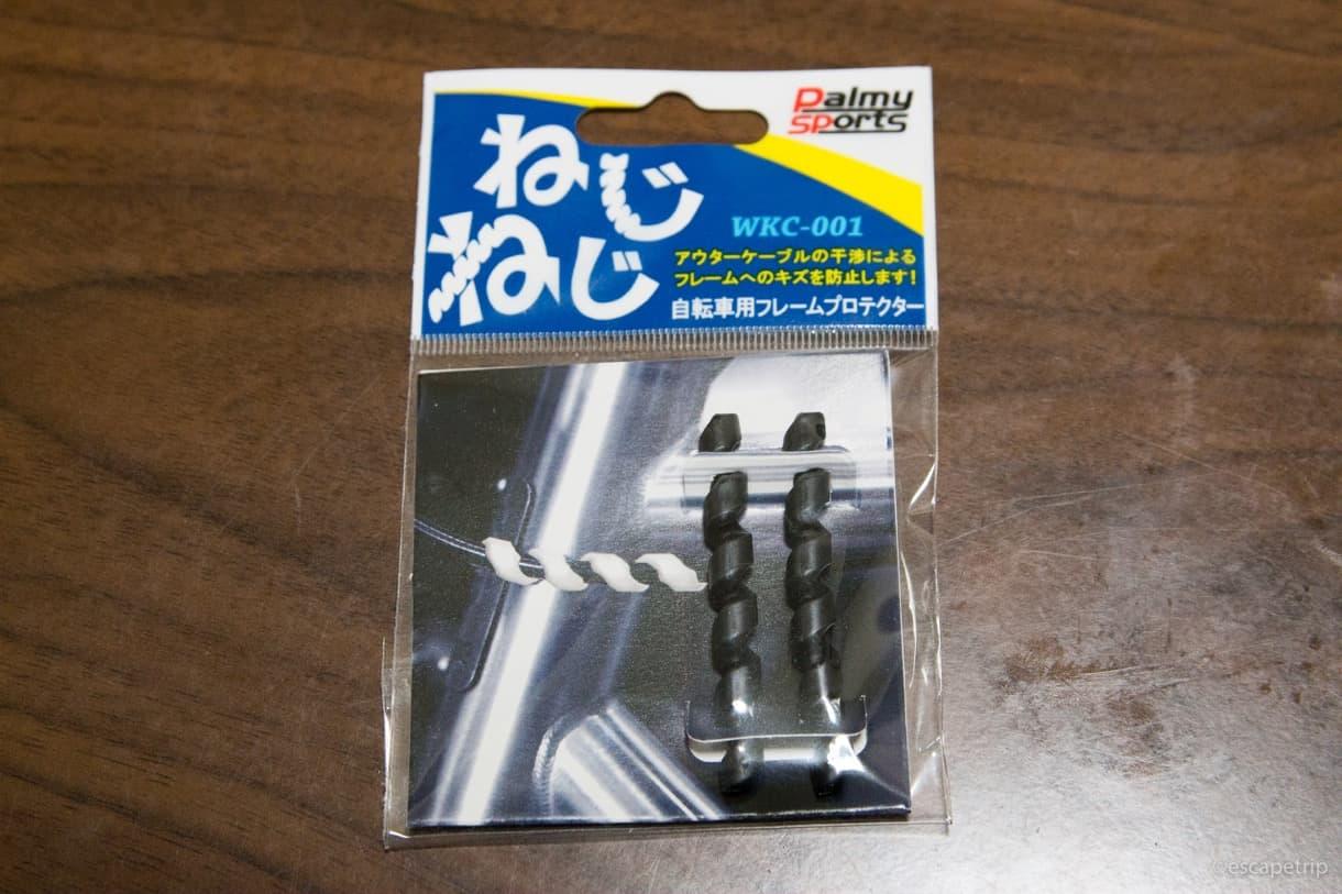 自転車のフレームの傷を守る商品
