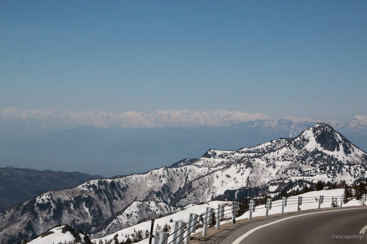 渋峠からの景色