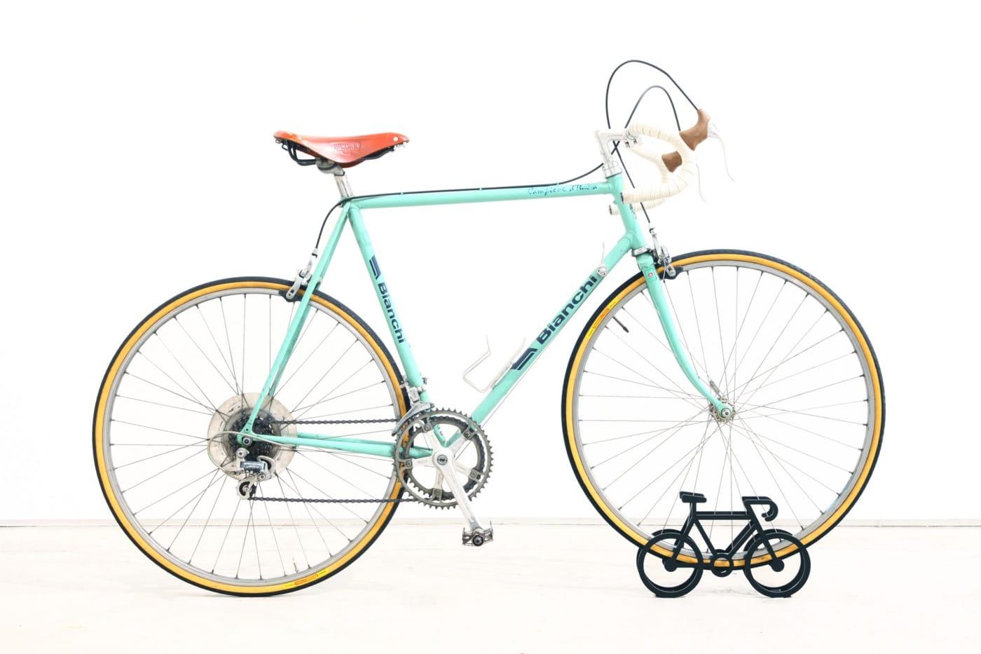 自転車を停めたとき