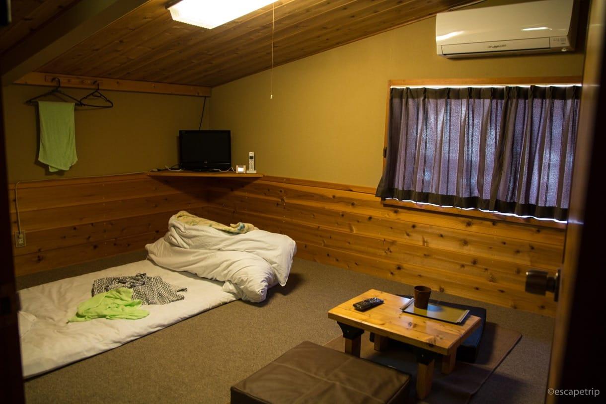 白馬村で泊った宿
