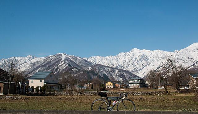白馬村から富山ライドの記事のアイキャッチ