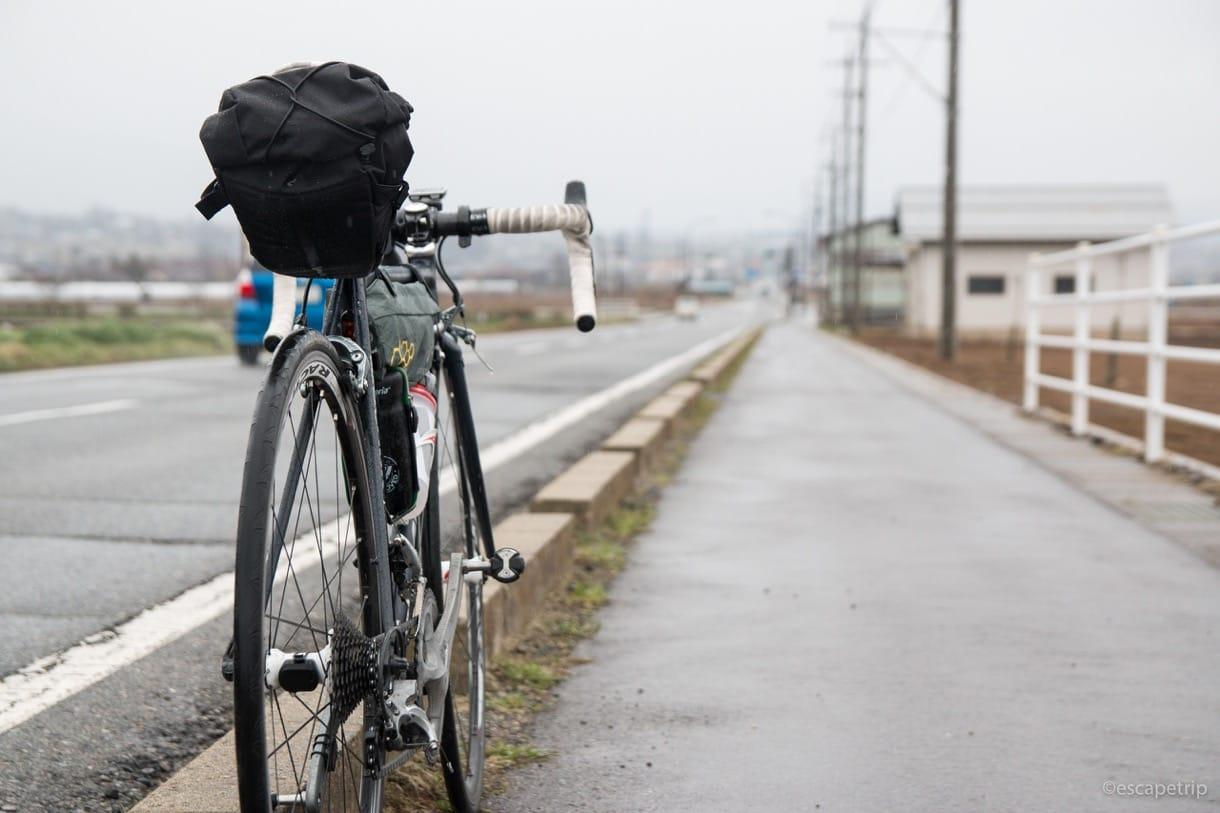 日本アルプスサラダ街道とロードバイク