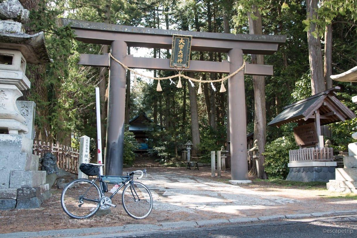 大宮熱田神社の鳥居