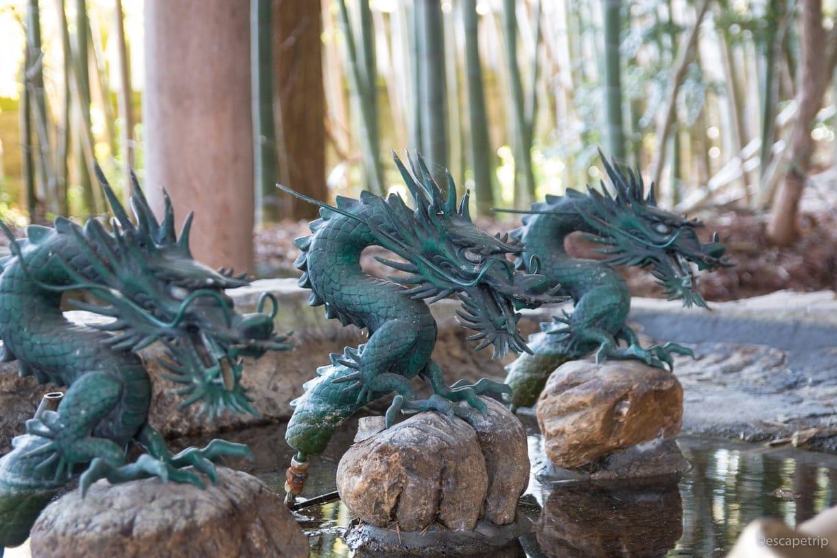 大宮熱田神社の手水舎