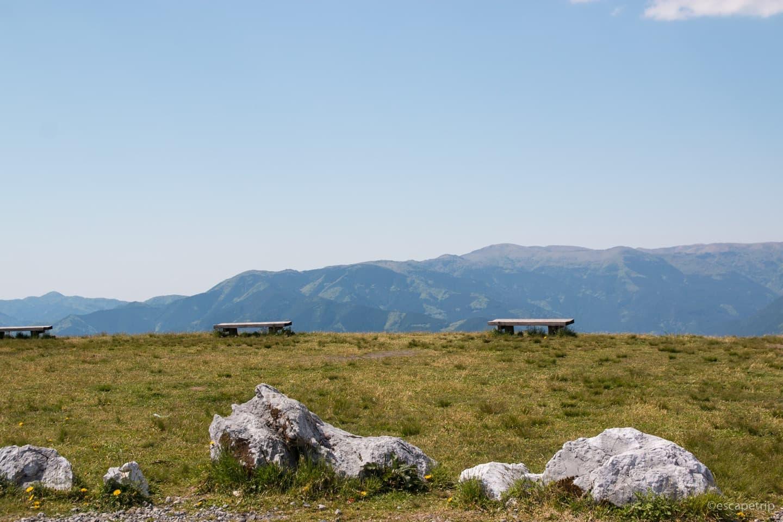 姫鶴平からの景色