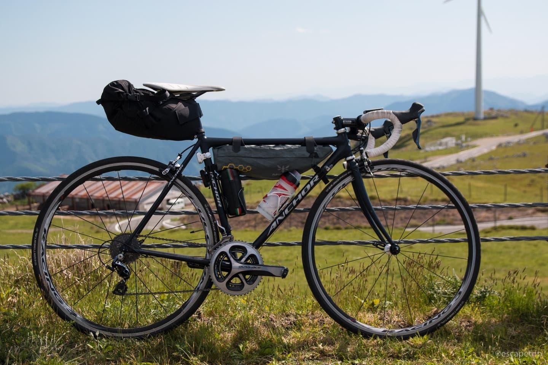 四国カルストとロードバイク
